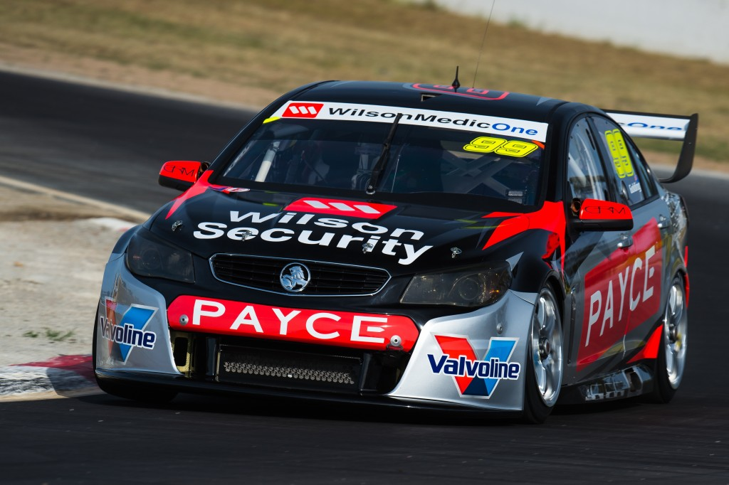 2016 Winton V8SC Test Day, Winton Motor Raceway, Winton, Victoria, Australia. Monday 22nd February 2016.  World Copyright: Volvo Cyan Racing Ref: Digital Image 220216_WINTONV8SCTESTDAY_DKIMG_0146.NEF