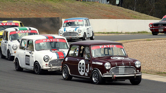 Mini Coopers to race for PAYCE 50th Anniversary