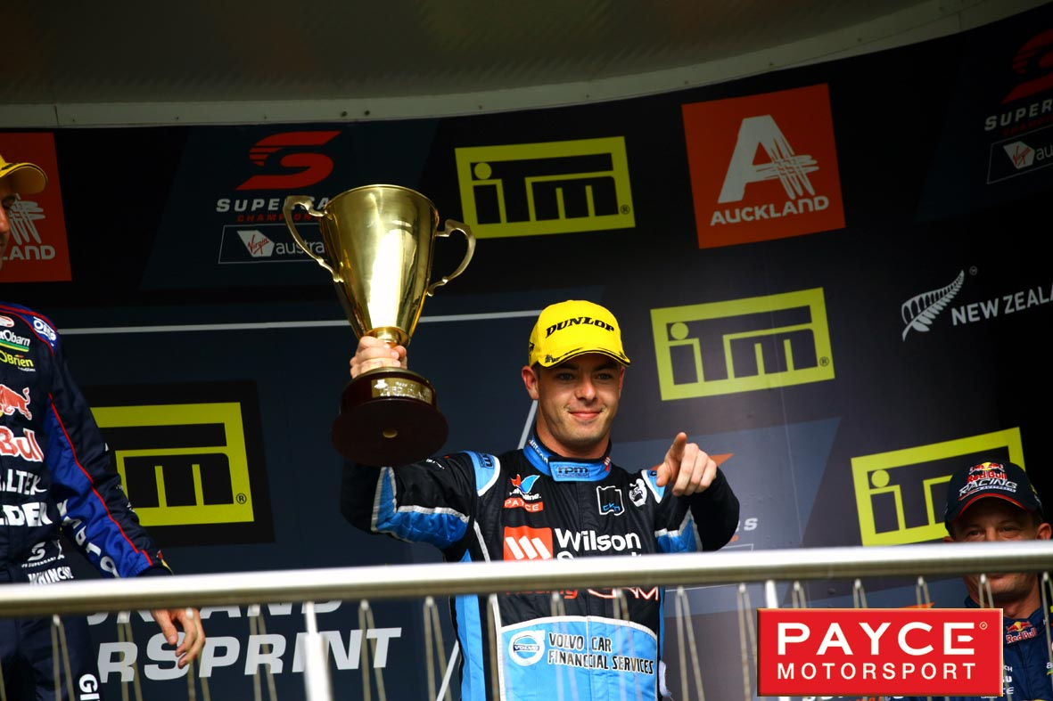 Strong showing by the Volvo team in Auckland with two more podiums