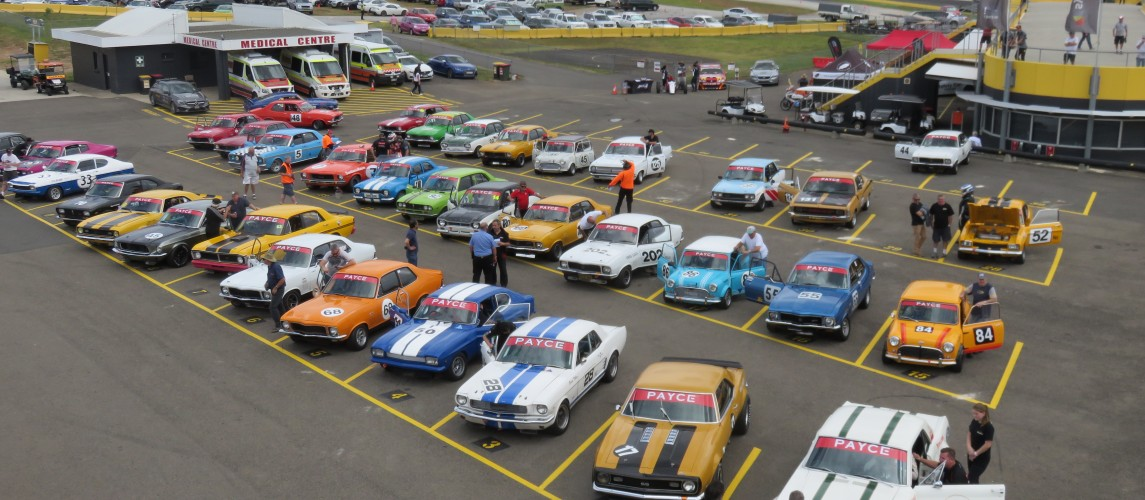 Record fields thrill fans at 2016 Muscle Cars Masters