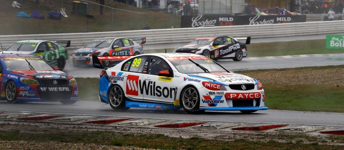 Wet and Wild Tassie Supercars round takes its toll