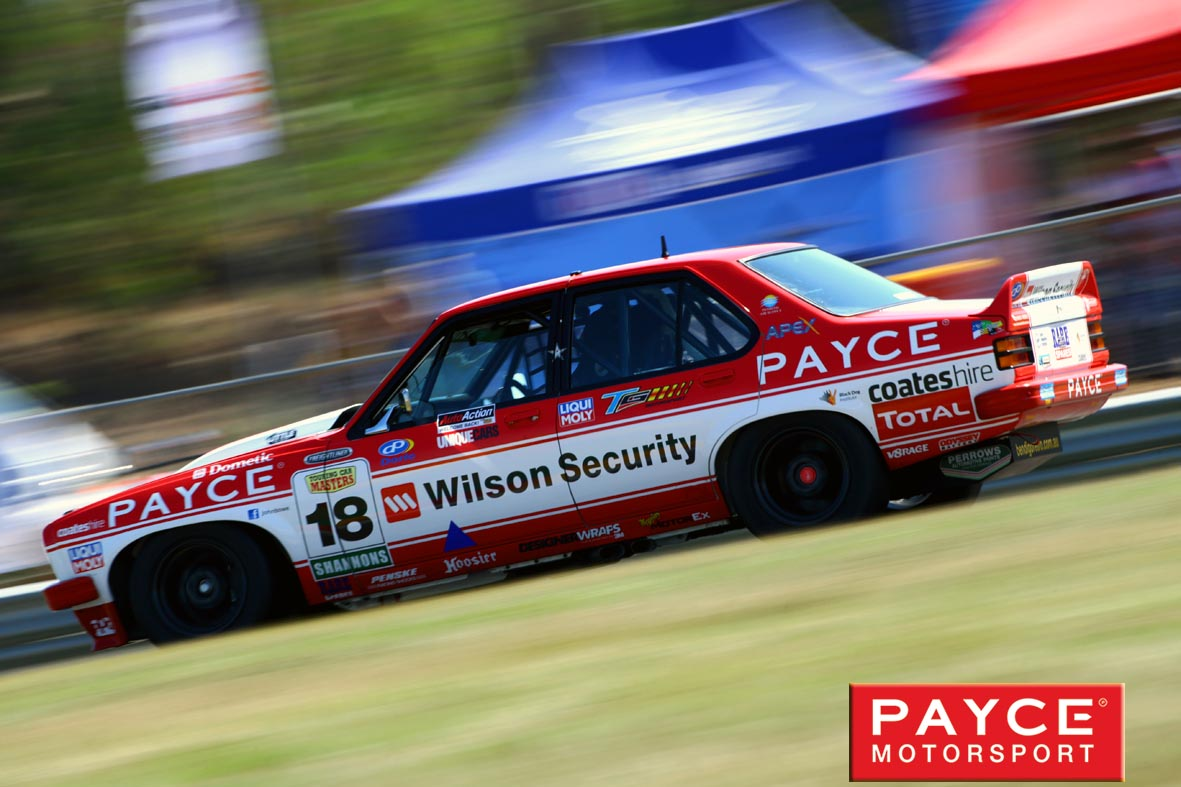 PAYCE drivers at the Ipswich Super Sprint 2016