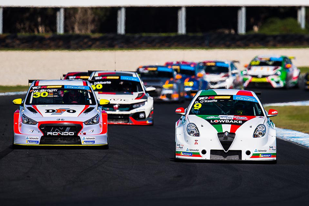 Round 2 TCR revs up in Phillip Island