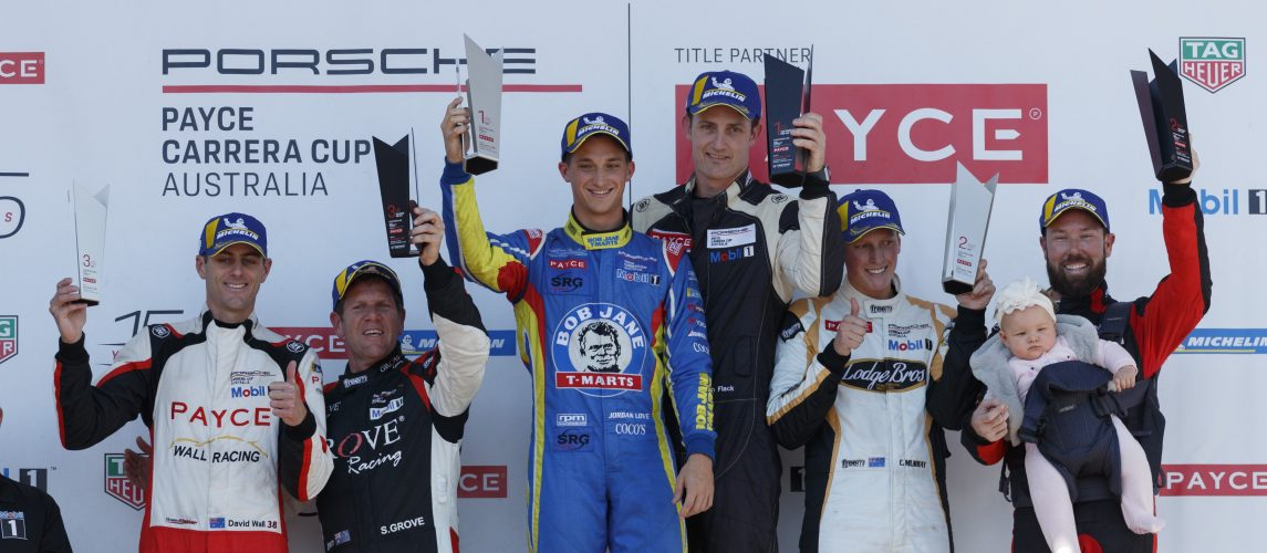 Fitting finale for Porsche PAYCE Carrera Cup title